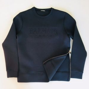 Balmain Sweatshirt Zipper